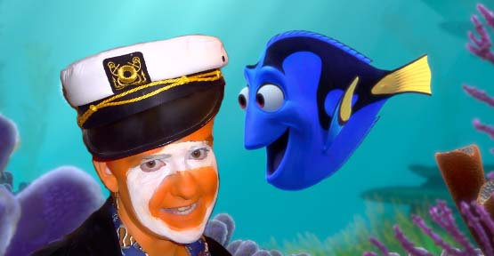 Jeremy dressed as Captain Nemo